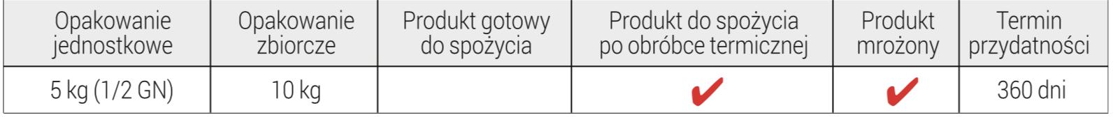 tabelka Farsz kiełbasa biała